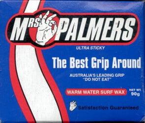 MR. PALMERS SURF WAX - Warm Water